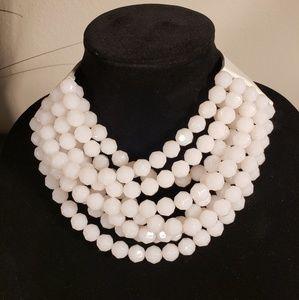 "Fairchild Baldwin ""Bella"" White Necklace"